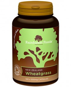organic wheatgrass capsules 500mg
